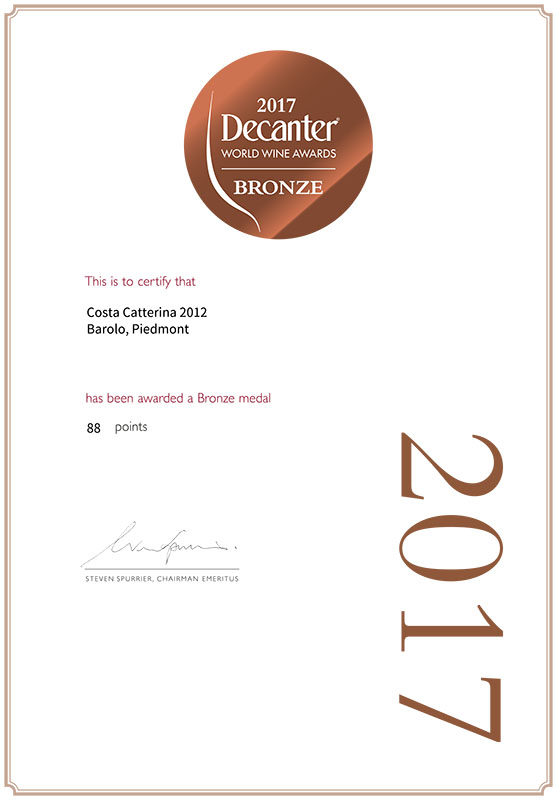 Decanter World Wine Award 2017