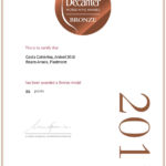 Decanter Word Wine Award 2017